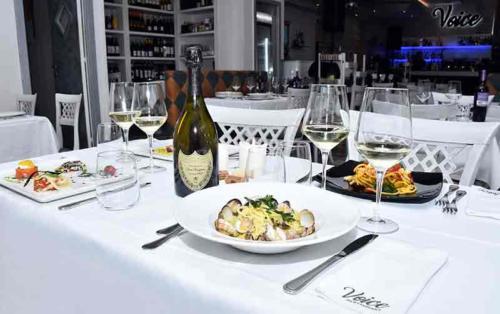 ristorante voice roma cena